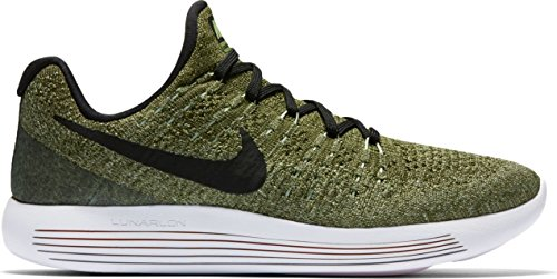 Nike Nike W Lunarepic Low Flyknit 2 - Palm Green/Black-Vapor Green-r, Größe:5.5