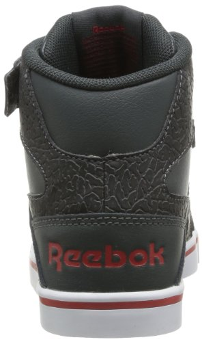 Reebok - Jonesboro, Sneaker Bambino Nero  (Noir (Black/Gravel/Red/White/Grey))