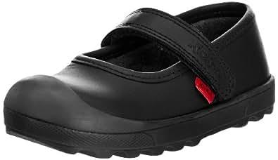 Kickers Girls Plunk Bar IF Mary Jane Flats 112728 Black 5 UK Child, 22 EU