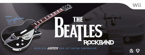 The Beatles: Rock Band Wii Wireless Gretsch Duo-Jet Guitar Controller by MTV Games