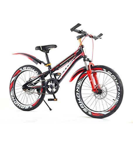 Boy Speed   Bikes 6-15 Jahre Alt Mountainbikes Aufblasbarer Reifen Bequemer Sitz Klein Verdrahtet Kinderfahrrad Jungenfahrrad,16inch (Cool Cruiser-bikes)