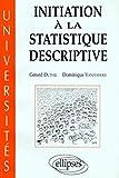 Initiation à la statistique descriptive