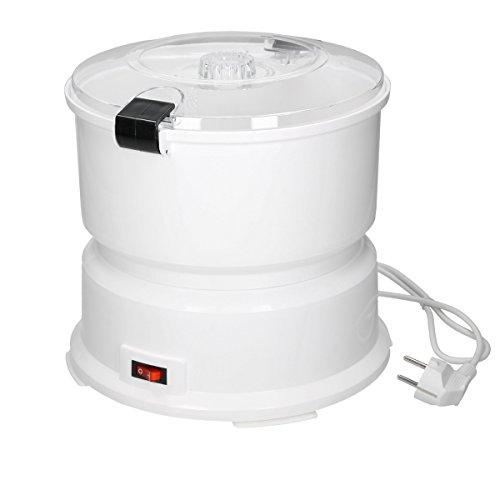 ECD Germany Elektrische Kartoffelschälmaschine mit Edelstahlreibe für 1 kg Kartoffeln,...