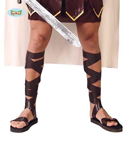 419 - Römische Sandalen (Mens Spielzeug Soldat Kostüm)
