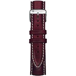 Oxygen Unisex Purple Leather Buckle Pin of 20cm EX-CLS-STR-20-PL