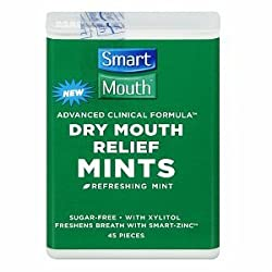 SmartMouth Mints, Sugarfree, Great Mint Flavor 45 pieces