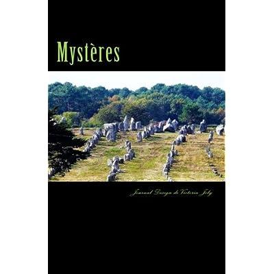 Mysteres: Journal/Carnet de Notes/Idees/Inspiration/Creativite/A retenir - Collection Mystere 4