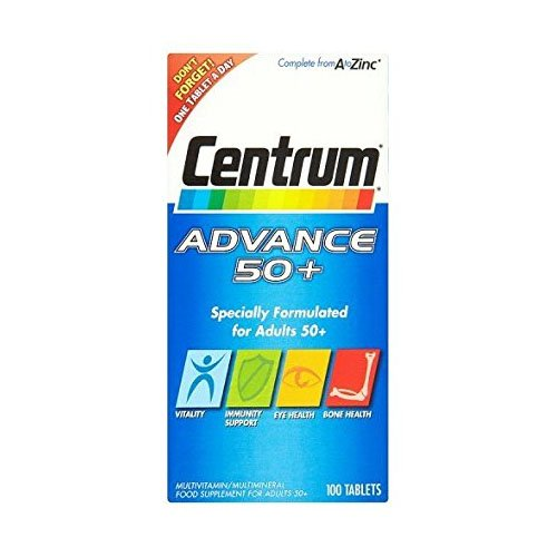 Centrum Advance 50 Plus - Pack of 100