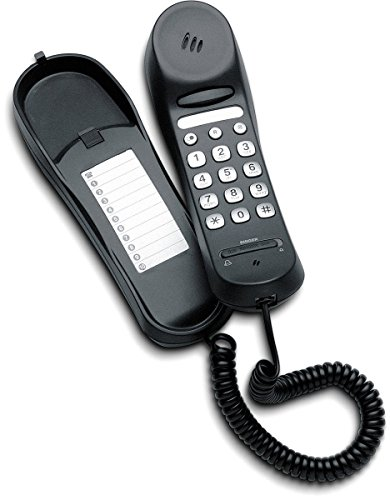 Emporia TS1 Kompaktes schnurgebundenes Telefon Schwarz Twin-dect-telefon