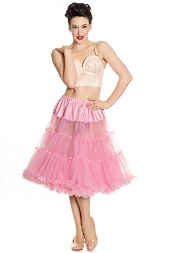 icoat Swing Flare Rock 50er Jahre Rockabilly Vintage - Bubblegum Pink (L-2XL) ()