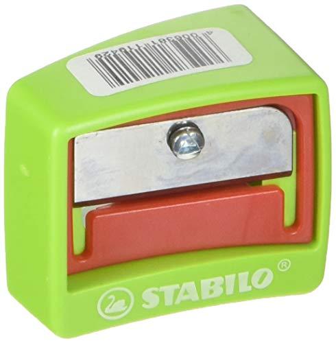 Spitzer - STABILO woody 3 in 1 Spitzer - für extradicke Stifte - rot/grün