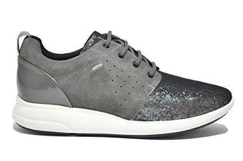 Geox ophira sneakers grigio scarpe donna d621ca 38