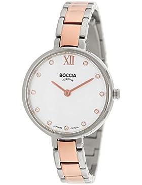 Boccia Damen-Armbanduhr Analog Quarz Titan 3251-02