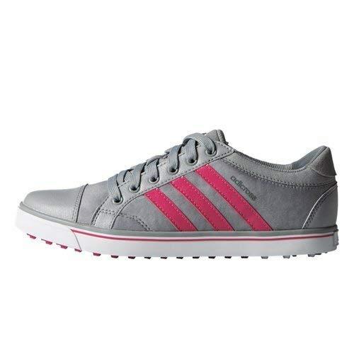 adidas ADIVI Damen Adicross Iv Golfschuhe, Grau (Light Onyx/Raspberry Rose/Grey), 42 2/3 EU