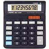ORPAT SDC-0108 Calculator With Led Display, Black