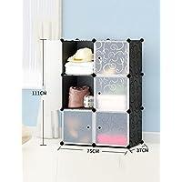 Creativo magico compresse in resina ABS di plastica moderno semplice Assemblea armadio semplice piega Combinazione armadio