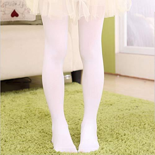 laonBonnie Mädchen Kinder Bunte Warme Leggings, Footed Strümpfe Baumwolle Elastische Taille Balletttanz Tight-Hosen Hosen Nylon Seide -