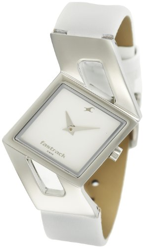 Fastrack Girls Analog White Dial Women's Watch - NE6035SL01 image