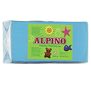 Alpino DP000073 – Plastilina, color celeste