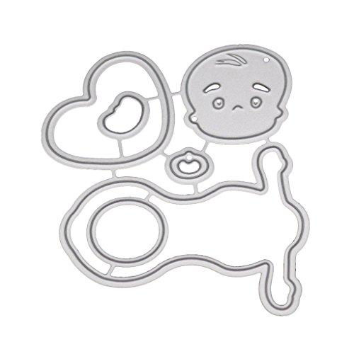 Lifet Baby Puppe Stanzmaschine Stanzschablone DIY Scrapbooking Präge Album Papier Karte Handwerk