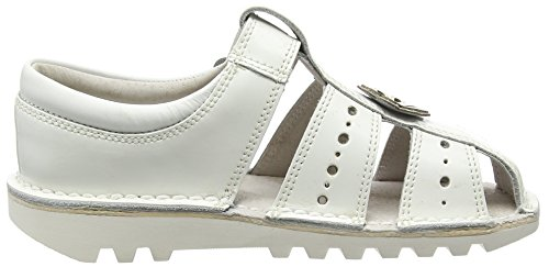 Kickers - Kick San 2 Leather, Infant Girls, Light Pink, Mary Jane Bambina Bianco (Bianco (White))