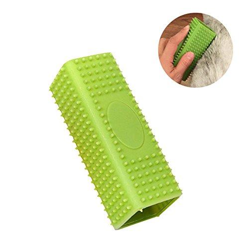 Pawaca Dual Use Silikon Tierhaarentferner, Hohler Gummi Haustier Hundekatzen Haar Entferner für Autos, Möbel, Teppich, Kleidung, Sofa - - Haustier-haar-möbel-entferner
