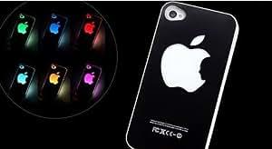 Nouveau Coque Cristal Rigide avec lumière led de couleur changeante IPhone 4 et 4S