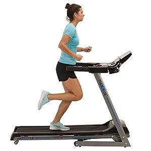 Laufband MAXXUS RunMaxx 4.2i Klappbar – Kompakte Treadmill Mit Klappbarer Lauffläche Und Dämpfungssystem – 16km/h, 12% Steigung – Starker 1,75 PS DC-Motor – Große Lauffläche Für Sicheres Training