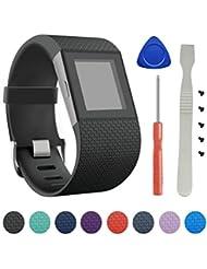 Fitbit Surge Bracelet, BeneStellar Remplacement Bracelet pour Accessorie de Fitbit Surge