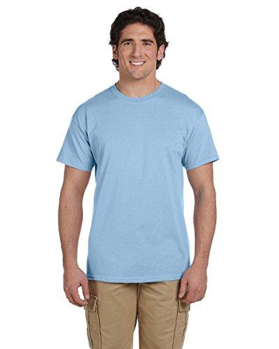 Gildan T-Shirt Cotton Ultra 6 Unzen Blau - Hellblau