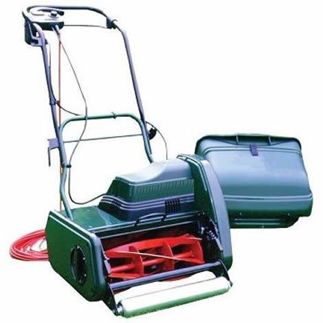 Webb Premier 14in Self Propelled Electric Cylinder Lawnmower