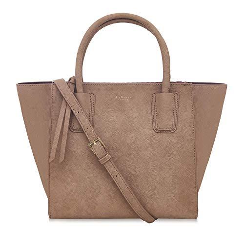 LaBante - bolsos mujer bandolera - Demi - bolso marron mujer bolso shopper mujer bolsa trabajo bolso tote | bolso grande bandolera piel bolsos grandes mujer bolso de cuero de la PU
