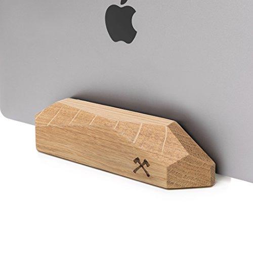 Woodcessories - EcoRest - MacBook Dock di legno - Design Supporto, Riposo...