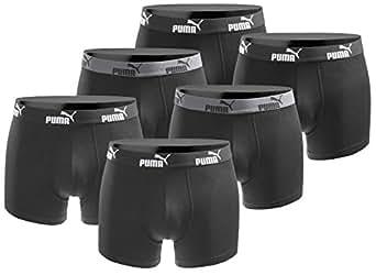 Puma 6er Pack Boxershort Größe S Herren Basic Black Limited Edition Black Power