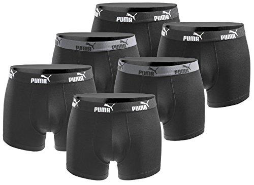 Puma 6er Pack Boxershort Größe L Herren Basic Black Limited Edition Black Power