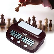 Hastip LEAP PQ9907S Digital Chess Clock I-Go Count up Down Timer