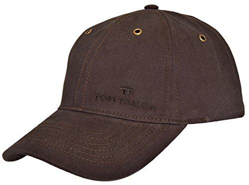 Tom Tailor Herren Basecap Mütze 6-Panel-Cap Base Cap Kappe einfarbig