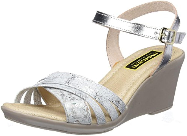 MOMEM Limmu, Sandali con Cinturino alla Caviglia Donna   Nuovo design diverso    Scolaro/Signora Scarpa
