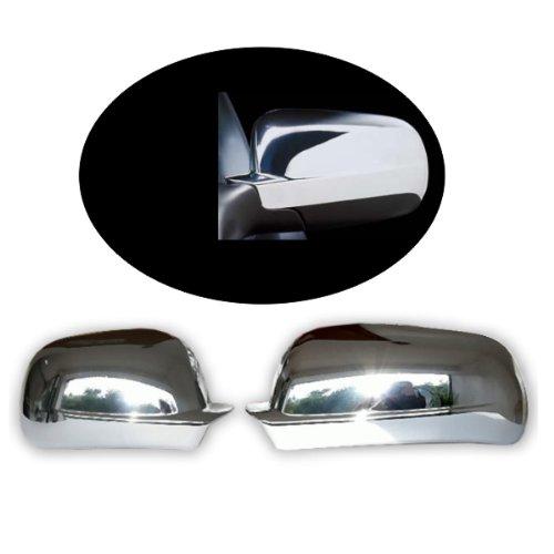 Akhan CSK210 - Chrom Spiegelkappen Spiegelabdeckung geeignet für Seat Toledo, Leon, Ibiza, Cordoba, VW Golf 3 Cabrio, Golf 4 Cabrio / Variant, Bora, Polo, Passat 3B, 3BG