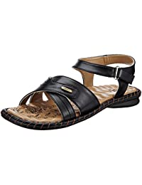 Tip Topp (from Liberty) Women's Black Fashion Sandals - 4 UK/India (37 EU)