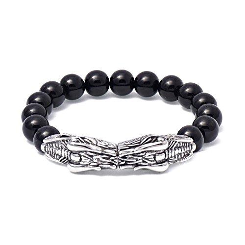 Hydra - Schwarzes Perlen Armband - Hydra Perlen