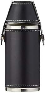 Relags Bouteille de Chasse 'avec 2Mugs Flasque, noir, 200ml