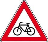 3801. Verkehrsschild nach StVO / Typ 1, Nr. 138-10 Radfahrer (Aufstellung rechts) Aluminium, Typ1,...