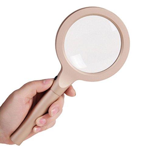Vergrößerungsglas 12 LED Licht 10X Lupe Glas Handheld Mini Pocket Mikroskop Lesen Schmuck Lupe Top Qualität Günstigen Preis