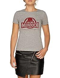 49345a4d7b Jergley Murdock Gym (Vintage) Maglietta T-Shirt Grigio Donna | Women's Grey  T