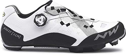 Northwave Ghost XCM MTB Fahrrad Schuhe weiß/schwarz 2019: Größe: 45