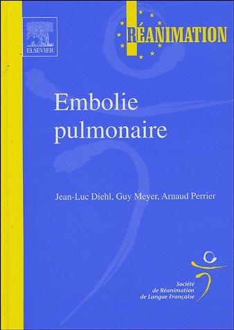 Embolie pulmonaire - SRLF