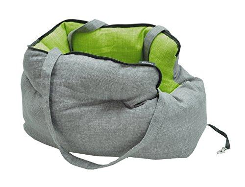 vadigran Liso Transporttasche für Hunde grau/grün 40cm