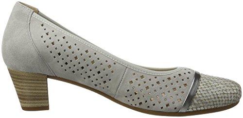 Gabor Comfort, Chaussures À Talons Grises Pour Femmes (gris Clair 39)