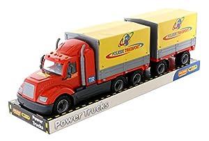 Polesie 58492 Mike, camión inclinable con Bandeja de Remolque - Vehículos de Juguete